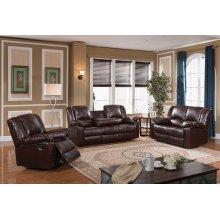 8031 Brown Reclining Sofa