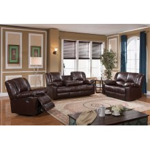 8031 Brown Reclining Sofa