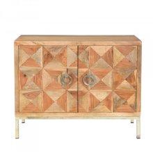 Solid Mango & Acacia Cabinet