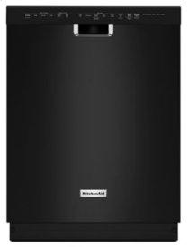 46 dBA Dishwasher with ProScrub Option - Black