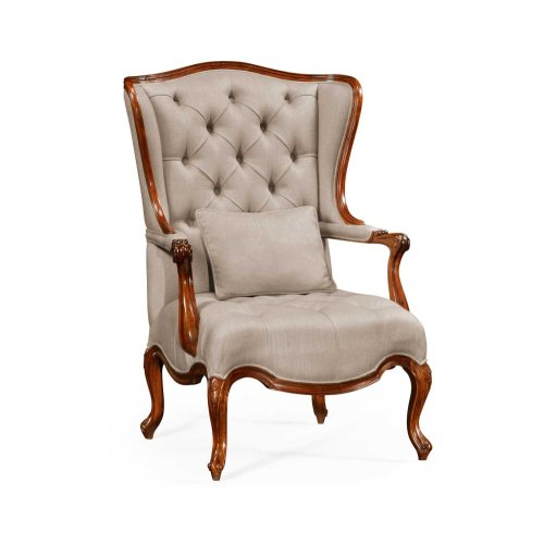 Wing-Backed Chair in MAZO