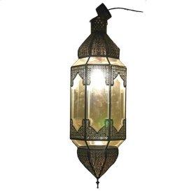Chelsy Clear Glass Lantern
