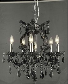 2800 Maria Theresa Collection Hanging Fixture Black Finish