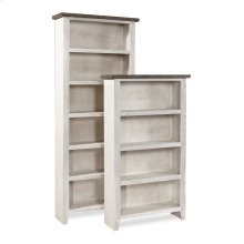 """84"""" Bookcase w/ 5 fixed shelves"""