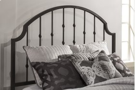 Westgate King Headboard With Frame - Rustic Black