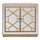 Juniper 2 Door Chest - Rustic Oak / Dark Bronze / Mirror Product Image
