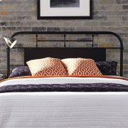 Queen Metal Headboard - Black Product Image