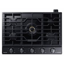 """30"""" Gas Chef Collection Cooktop with 22K BTU Dual Power Burner (2017)"""