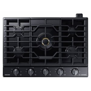 "Samsung30"" Gas Chef Collection Cooktop with 22K BTU Dual Power Burner (2018)"