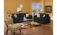 Lean Back Black / Bohemian Domino Sofa Product Image