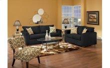 Lean Back Black / Bohemian Domino Sofa