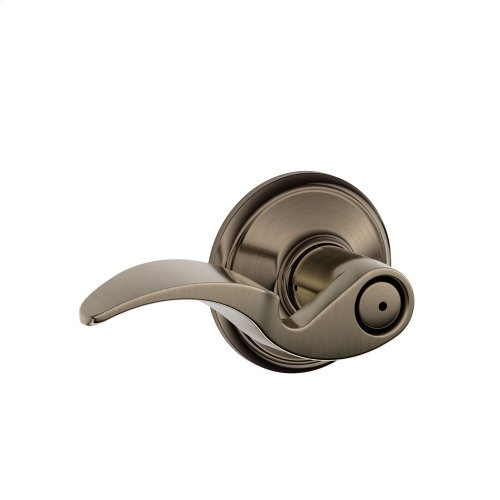 Avanti Lever Bed & Bath Lock - Antique Pewter