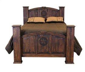 King Mansion Bed W/Star (Medio)
