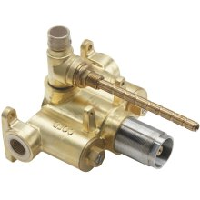 """StyleTherm 1/2"""" Thermostatic Rough Valve With Single Integral Volume Control"""