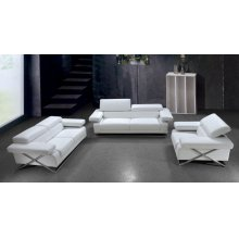 Divani Casa Linx - Modern Leather Sofa Set