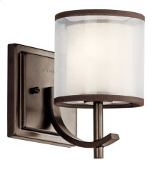 Tallie 1 Light Wall Sconce Mission Bronze