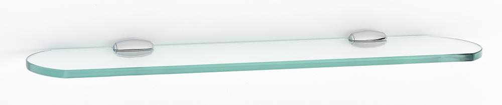 Royale Glass Shelf A6650-18 - Polished Chrome
