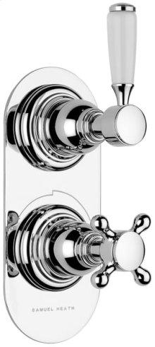 Non Lacquered Brass Trim set for V111-AIS thermostatic valve