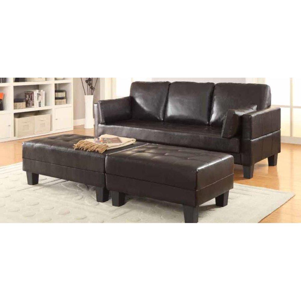 Ellesmere Contemporary Brown Sofa Bed