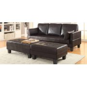 Ellesmere Contemporary Brown Sofa Bed Product Image