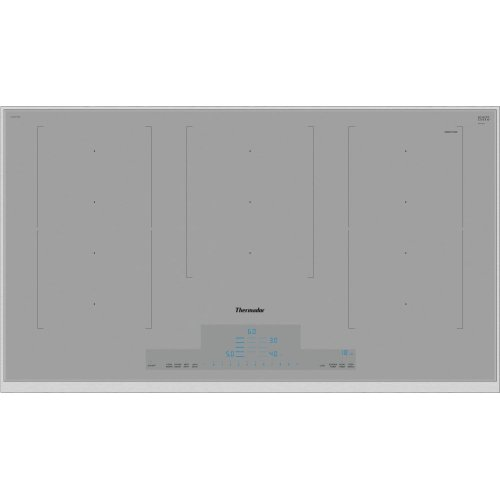 36-Inch Masterpiece® Liberty Induction Cooktop, Titanium Gray, Framed