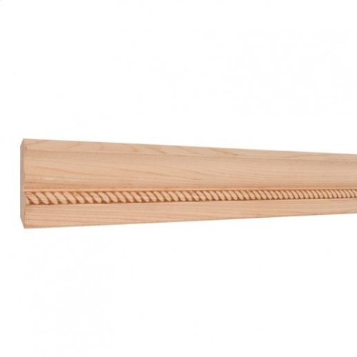 """2-3/4"""" x 1/2"""" Rope Embossed Moulding Species: Poplar. Priced by the linear foot and sold in 8' sticks in cartons of 120'."""