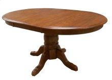 """Pedestal Table w/1-18"""" Leaf & Empire Feet"""