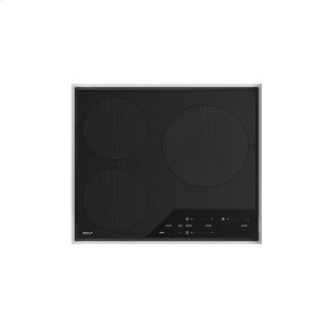 "Wolf24"" Transitional Framed Induction Cooktop"