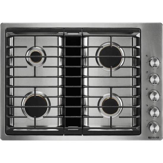 Jenn Air JGD3430GS Standard Cooktops Stainless Steel