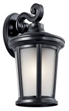 "Turlee 14.25"" 1 Light Wall Light Black Product Image"