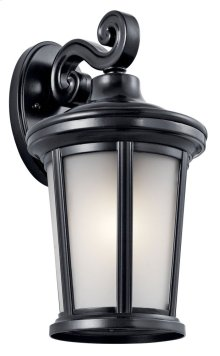 "Turlee 14.25"" 1 Light Wall Light Black"