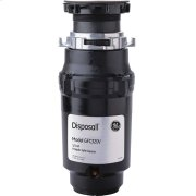GE1/3 HP Continuous Feed Garbage Disposer Non-Corded Product Image