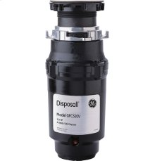 GE® 1/3 HP Continuous Feed Garbage Disposer Non-Corded