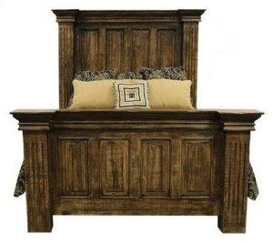 Terra Latte Queen Bed