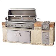 """Luxor54""""built-ingrill/ Rotisserie"""