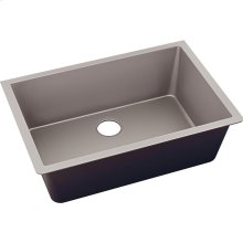 "Elkay Quartz Luxe 33"" x 18-7/16"" x 9-7/16"", Single Bowl Undermount Sink, Silvermist"