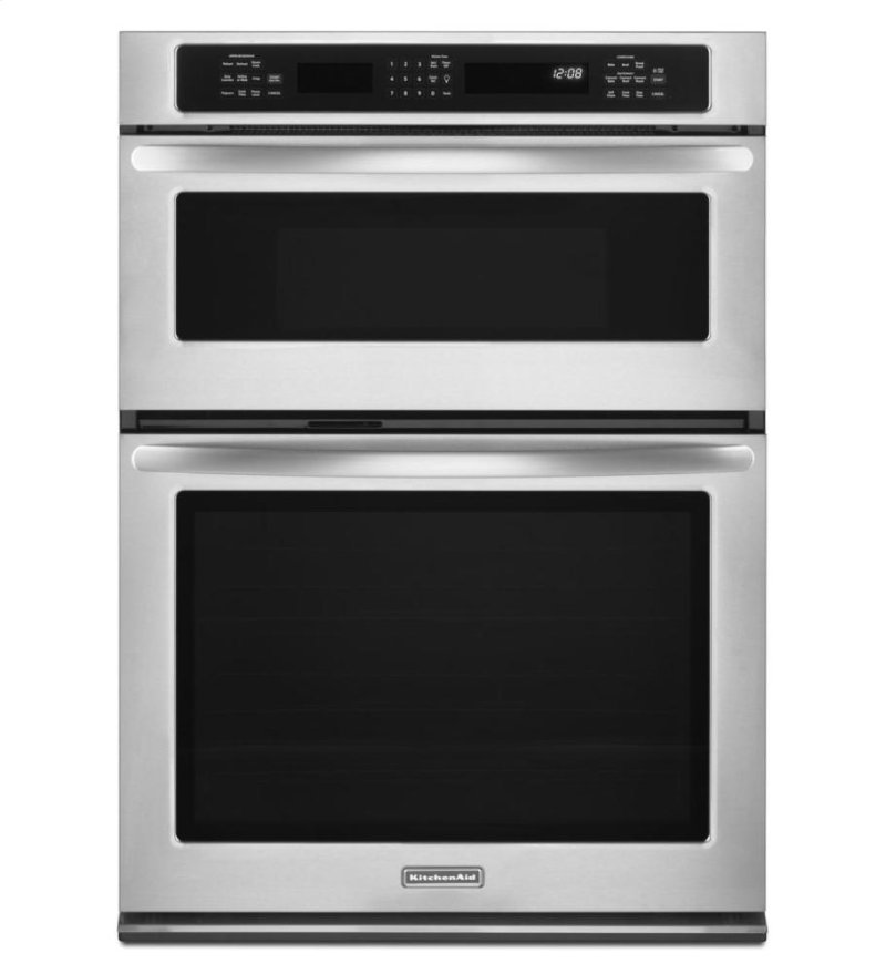 27 Inch Convection Combination Microwave Wall Oven Architect Series Ii Stainless Steel