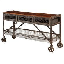3 Drw Console Table