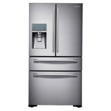 24 cu. ft. Counter Depth 4-Door Refrigerator with FlexZone Drawer