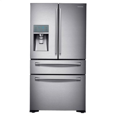 24 cu. ft. Counter Depth 4-Door Refrigerator with FlexZone Drawer Product Image
