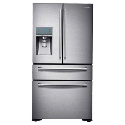 24 cu. ft. Counter Depth 4-Door Refrigerator with FlexZone Drawer