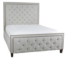 Tufted Footboard shown with #54 Headboard