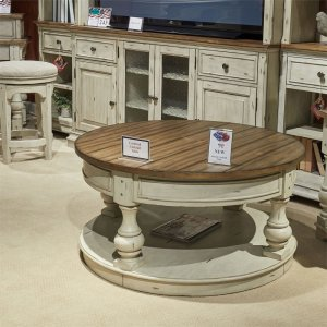 498ot1011 In By Liberty Furniture Industries Staunton Il Round Tail Table
