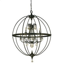 9-Light Compass Foyer Chandelier