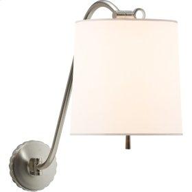 Visual Comfort BBL2010SS-S Barbara Barry Understudy 1 Light 10 inch Soft Silver Decorative Wall Light