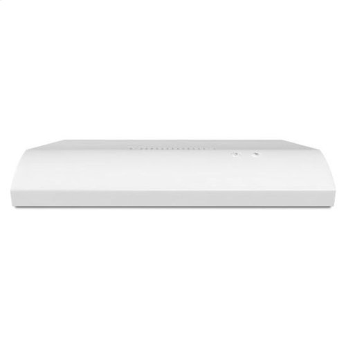 """30"""" Non-Vented Under-Cabinet Hood - white"""