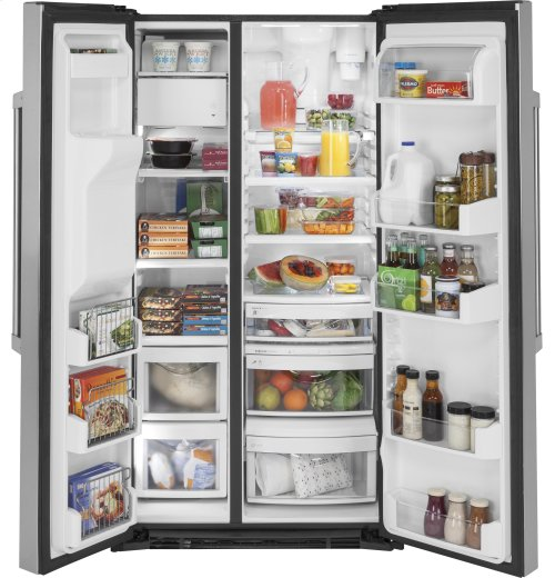 GE Cafe™ Series 21.9 Cu. Ft. Counter-Depth Side-By-Side Refrigerator