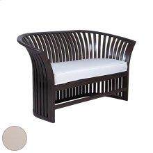 Vineyard Barrel Love Seat Cushion