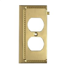 CLICKPLATES BRASS END SWITCH PLATE