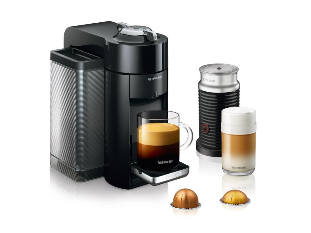 Nespresso Vertuo Coffee/Espresso Maker by DeLonghi w/ Aerocinno, Black